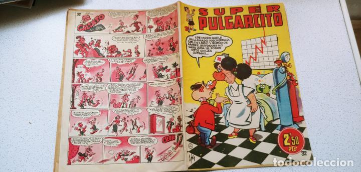 Tebeos: Super Pulgarcito nº 32 Bruguera penultimo de la colección difícil - Foto 9 - 193854343