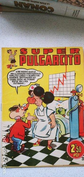 SUPER PULGARCITO Nº 32 BRUGUERA PENULTIMO DE LA COLECCIÓN DIFÍCIL (Tebeos y Comics - Bruguera - Pulgarcito)