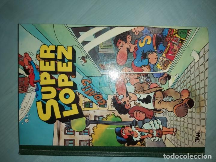 SUPERLÓPEZ SUPER LÓPEZ ED. BRUGUERA N 1 JAN 2ª ED. OCT 1983 (Tebeos y Comics - Bruguera - Ole)