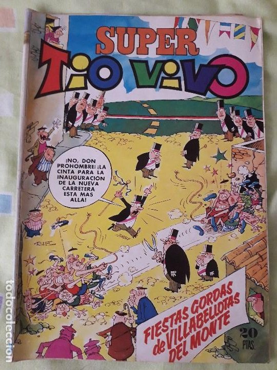 COMIC 'SUPER TIO VIVO' DE EDITORIAL BRUGUERA (Tebeos y Comics - Bruguera - Tio Vivo)