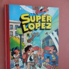 Tebeos: SUPERHUMOR SUPERLOPEZ Nº1 - JUAN LOPEZ JAN - 1ª REIMPRESION JULIO 1990 - EDICIONES B. . Lote 193936761