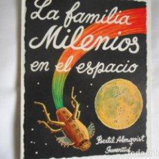 Tebeos: LIBRO JUVENIL LA FAMILIA MILENIOS EN EL ESPACIO. Lote 193976547