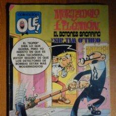 Tebeos: TEBEO MORTADELO Y FILEMÓN - BOTONES SACARINO Y SIR TIM O,THEO - Nº 186 - EDITORIAL BRUGUERA - 1985. Lote 193977571
