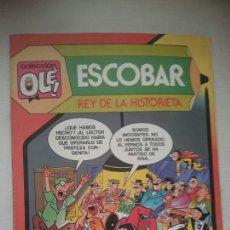 Tebeos: ESCOBAR, REY DE LA HISTORIETA. COLECCION. OLE 299 ED. BRUGUERA. Lote 194009103