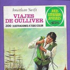 Tebeos: JOYAS LITERARIAS JUVENILES NUMERO 105 VIAJES DE GULLIVER. Lote 194079071
