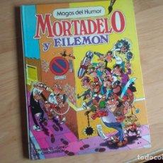 Tebeos: MAGOS DEL HUMOR NM 2. MORTADELO Y FILEMÓN. CONTRA EL GANG DEL CHICHARRÓN. PRIMERA EDICION 1984. Lote 194093500