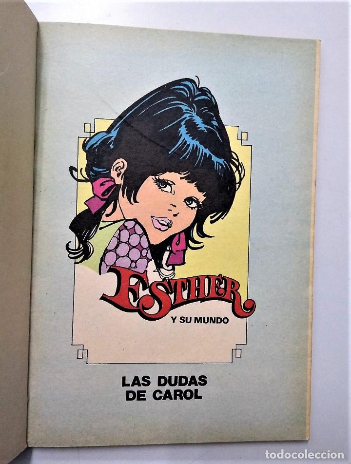 Tebeos: ESTHER Nº 7 | ME GUSTA SOÑAR | BRUGUERA 1982 - Foto 3 - 194120175