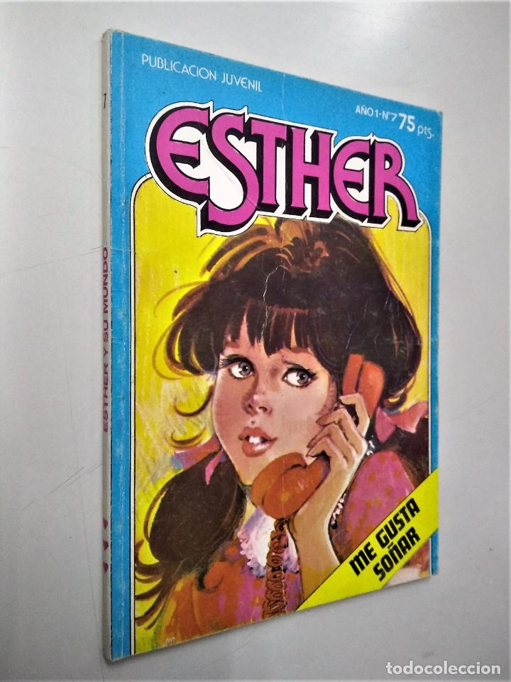 ESTHER Nº 7 | ME GUSTA SOÑAR | BRUGUERA 1982 (Tebeos y Comics - Bruguera - Esther)