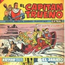 Tebeos: EL CAPITAN TRUENO EXTRA- Nº 234 -MARTÍNEZ OSETE-FÉLIX CARRIÓN-1964-CORRECTO-MUY DIFÍCIL-LEA-3077. Lote 194130963