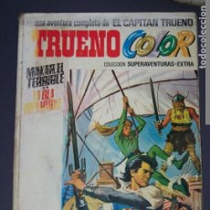 Tebeos: ALBUM BLANCO TRUENO COLOR EXTRA 5 MAKAR EL TERRIBLE LA OLA IMPLACABLE. Lote 194138650