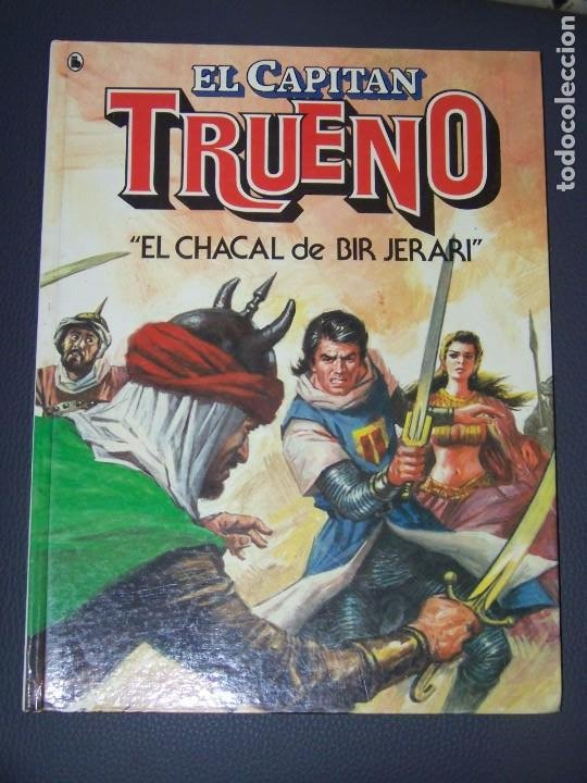 TAPA DURA BRUGUERA 2 EL CAPITAN TRUENO EL CHACAL DE BIR JERARI (Tebeos y Comics - Bruguera - Capitán Trueno)