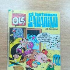 Tebeos: EL BOTONES SACARINO LIOS EN LA OFICINA (OLE #3 - 7ª EDICION ENERO 1984). Lote 194140775
