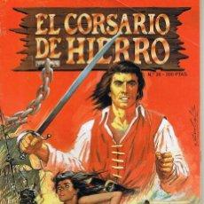 Tebeos: EL CORSARIO DE HIERRO -- EDICION HISTORICA --NUMERO 26. Lote 194146676