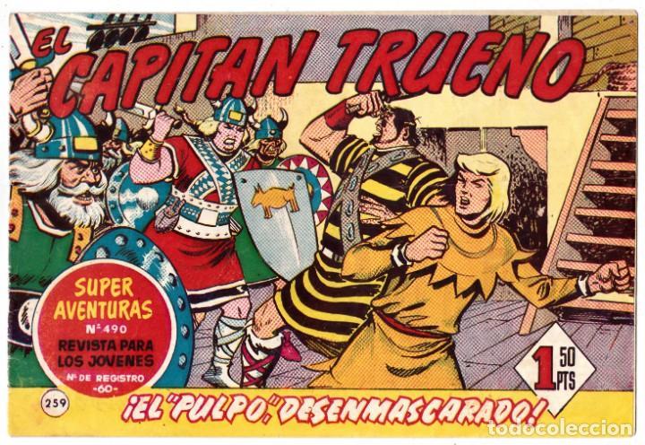 EL CAPITÁN TRUENO Nº 259 EDITORIAL BRUGUERA (Tebeos y Comics - Bruguera - Capitán Trueno)