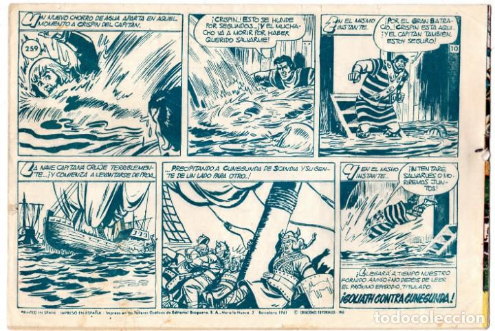Tebeos: EL CAPITÁN TRUENO Nº 259 EDITORIAL BRUGUERA - Foto 2 - 194177227