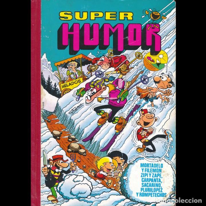 SUPER HUMOR XXXI. 31. BRUGUERA. MORTADELO. SACARINO. ZIPI Y ZAPE. CARPANTA. PLURILOPEZ. OFERTA 2X1 (Tebeos y Comics - Bruguera - Super Humor)