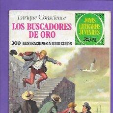Tebeos: JOYAS LITERARIAS JUVENILES NUMERO 99 LOS BUSCADORES DE ORO. Lote 194183327