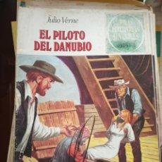 Tebeos: JOYAS LITERARIAS JUVENILES 213 EL PILOTO DEL DANUBIO. Lote 194190485