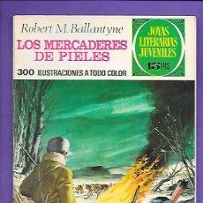 Tebeos: JOYAS LITERARIAS JUVENILES NUMERO 86 LOS MERCADERES DE PIELES. Lote 194190522