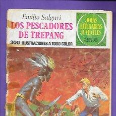 Tebeos: JOYAS LITERARIAS JUVENILES NUMERO 85 LOS PESCADORES DE TREPANG. Lote 194191068