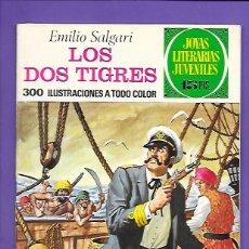 Tebeos: JOYAS LITERARIAS JUVENILES NUMERO 81 LOS DOS TIGRES. Lote 194197025