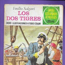 Tebeos: JOYAS LITERARIAS JUVENILES NUMERO 81 LOS DOS TIGRES. Lote 194197378