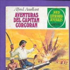 Tebeos: JOYAS LITERARIAS JUVENILES NUMERO 80 AVENTURAS DEL CAPITAN CORCORAN. Lote 194197766