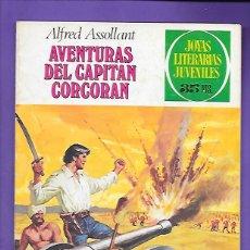 Tebeos: JOYAS LITERARIAS JUVENILES NUMERO 80 AVENTURAS DEL CAPITAN CORCORAN. Lote 194197873