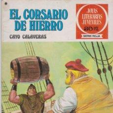 Tebeos: EL CORSARIO DE HIERRO -- Nº 33 CAYO CALAVERAS. Lote 194198812