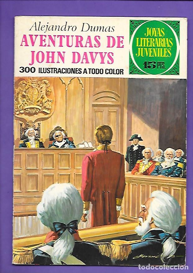 JOYAS LITERARIAS JUVENILES NUMERO 77 AVENTURAS DE JOHN DAVYS (Tebeos y Comics - Bruguera - Joyas Literarias)