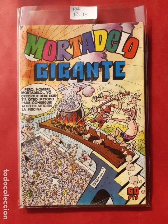 MORTADELO GIGANTE Nº 12Y 13 EXCELENTE ESTADO (Tebeos y Comics - Bruguera - Mortadelo)