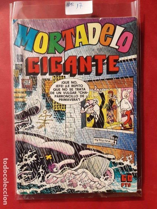 MORTADELO GIGANTE Nº 17 EXCELENTE ESTADO (Tebeos y Comics - Bruguera - Mortadelo)