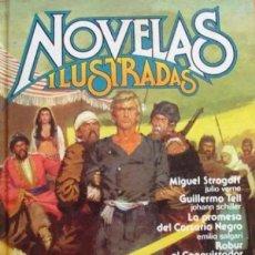 Tebeos: NOVELAS ILUSTRADAS-Nº 1-RECICLAJE DE JOYAS LITERARIAS-GARCÍA QUIRÓS-T.PORTO-1985-ANTONIO BOSCH-3084. Lote 194205800