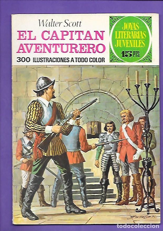 JOYAS LITERARIAS JUVENILES NUMERO 74 EL CAPITAN AVENTURERO (Tebeos y Comics - Bruguera - Joyas Literarias)