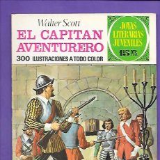 Tebeos: JOYAS LITERARIAS JUVENILES NUMERO 74 EL CAPITAN AVENTURERO. Lote 194207227