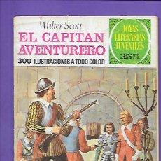 Tebeos: JOYAS LITERARIAS JUVENILES NUMERO 74 EL CAPITAN AVENTURERO. Lote 194207637