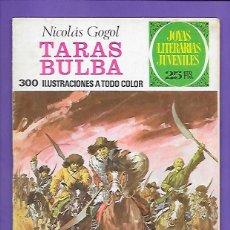 Tebeos: JOYAS LITERARIAS JUVENILES NUMERO 73 TARAS BULBA. Lote 194208640