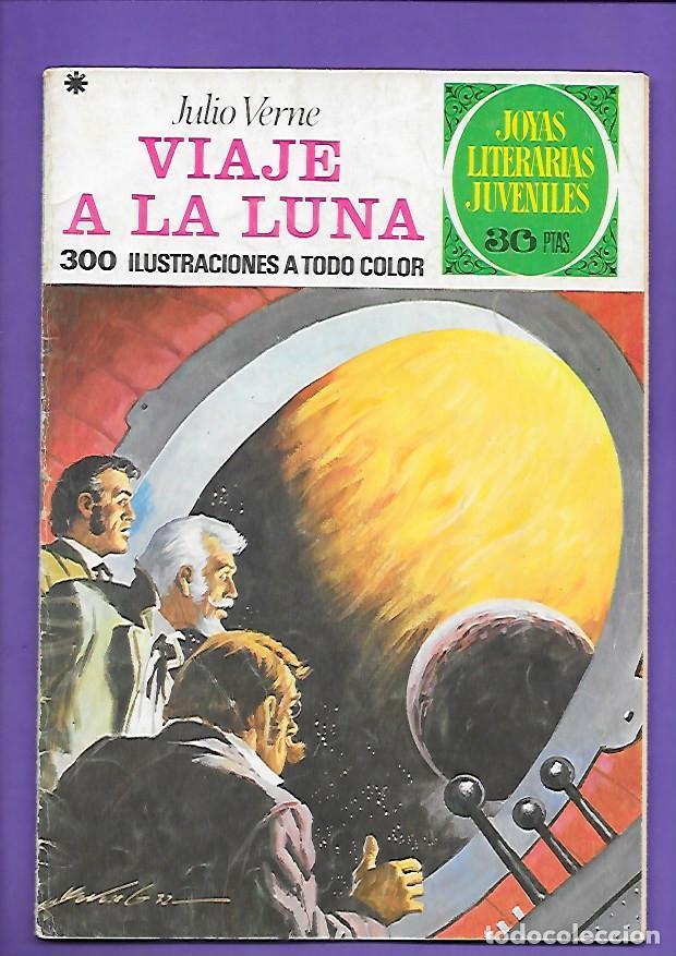 JOYAS LITERARIAS JUVENILES NUMERO 72 VIAJE A LA LUNA (Tebeos y Comics - Bruguera - Joyas Literarias)