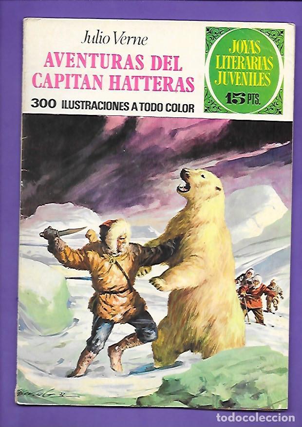 JOYAS LITERARIAS JUVENILES NUMERO 71 AVENTURAS DEL CAPITAN HATTERAS (Tebeos y Comics - Bruguera - Joyas Literarias)