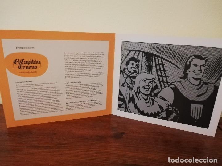 COLECCIÓN COLECCIONISTA DE SIGNO EDITORIAL, DE 10 TOMOS ENCUADERNADOS A ESTRENAR (Tebeos y Comics - Bruguera - Capitán Trueno)