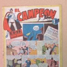 Tebeos: EL CAMPEÓN EDT. BRUGUERA N°1. Lote 194228633