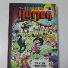 Tebeos: SUPER HUMOR VOLUMEN XX ZIPI Y ZAPE Y MORTADELO Y FILEMÓN 3 EDICIÓN 1982. Lote 194229197