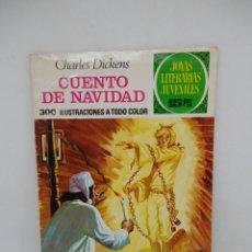 Tebeos: JOYAS LITERARIA JUVENILES 15 PTS. CUENTOS DE NAVIDAD. Nº 90. 1ª EDICIÓN.. Lote 194235877