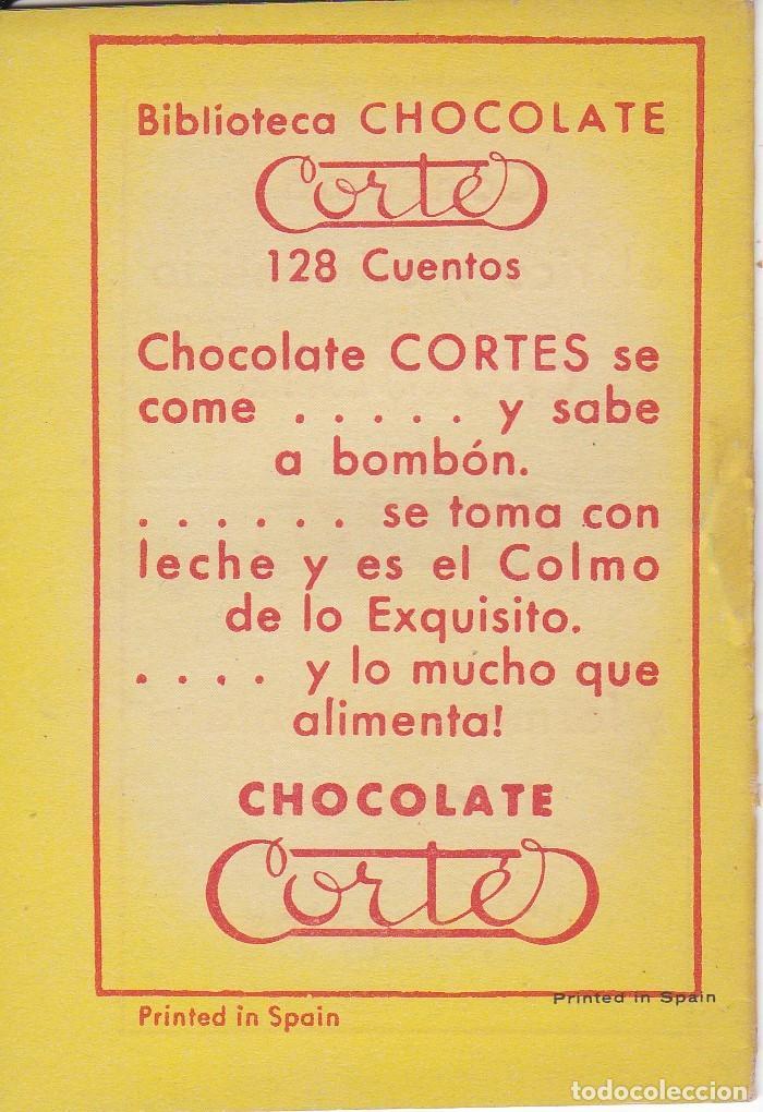 Tebeos: ANTIGUO MINI CUENTO DE EL PAIS DE LOS GNOMOS CON PUBLICIDAD DE CHOCOLATE CORTES (BRUGUERA 1959) - Foto 2 - 194239101