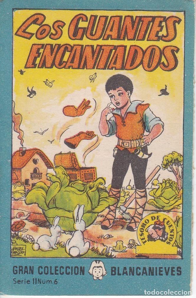 ANTIGUO MINI CUENTO DE LOS GUANTES ENCANTADOS CON PUBLICIDAD DE CHOCOLATE CORTES (BRUGUERA 1959) (Tebeos y Comics - Bruguera - Otros)