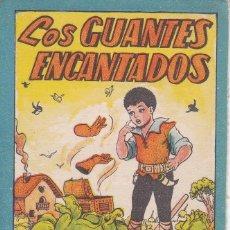 Tebeos: ANTIGUO MINI CUENTO DE LOS GUANTES ENCANTADOS CON PUBLICIDAD DE CHOCOLATE CORTES (BRUGUERA 1959). Lote 194239166