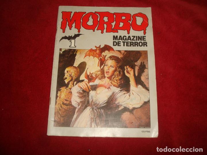 MORBO MAGAZINE DE TERROR Nº 1 EDITORIAL BRUGUERA 1983 (Tebeos y Comics - Bruguera - Otros)