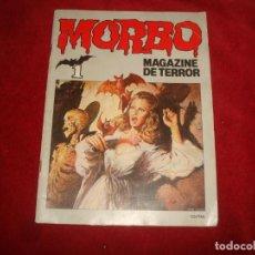 Tebeos: MORBO MAGAZINE DE TERROR Nº 1 EDITORIAL BRUGUERA 1983. Lote 194239220