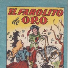 Tebeos: ANTIGUO MINI CUENTO DE EL FAROLITO DE ORO CON PUBLICIDAD DE CHOCOLATE CORTES (BRUGUERA 1959). Lote 194239223