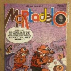 Tebeos: MORTADELO N° 247 (EDITORIAL BRUGUERA 1985).. Lote 194248542